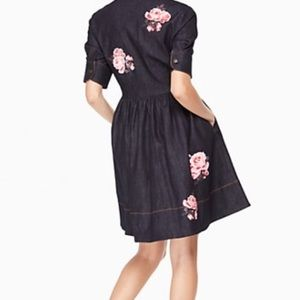 3107583b34 kate spade Dresses - NWT Kate Spade denim dress rose shirt dress
